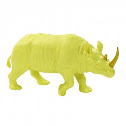 Rhinoceros jaune et or