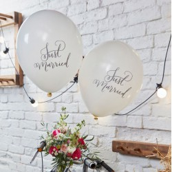 Ballon mariage Just Married (par 10)