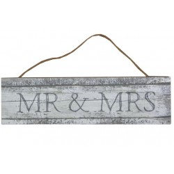 Pancarte mr et mrs