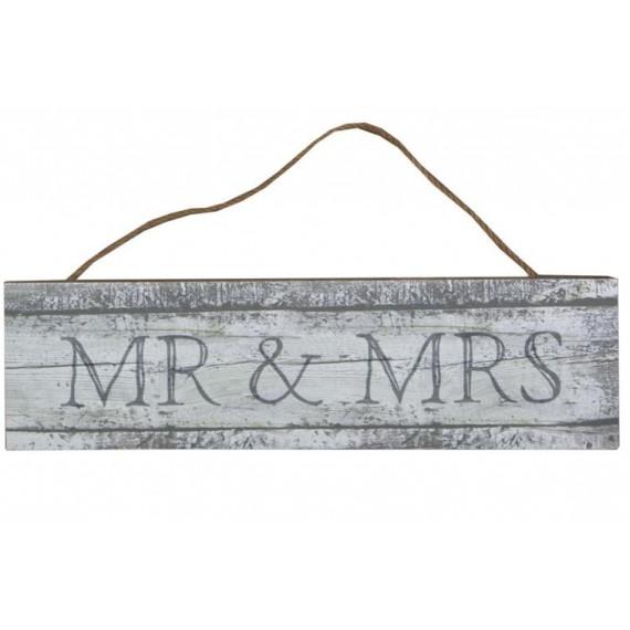 Pancarte mr et mrs