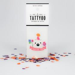 Tatouage éphémère Anniversaire fille