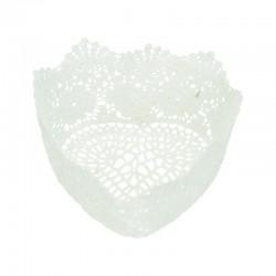 Corbeille crochet coeur