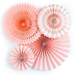 Lot de rosace corail (par 4)