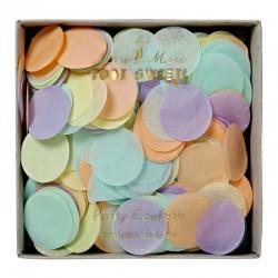 Confettis ronds - pastel