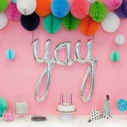 Ballon lettres YAY