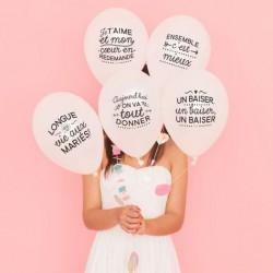 Ballons noces inoubliables ! (par 5)