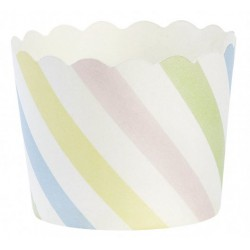 24 Caissettes à cupcake - multicolore