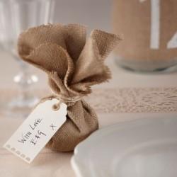 Étiquettes carton dentelle - ivoire