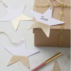 Étiquettes étoiles (par 6)