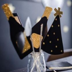 Accessoires photobooth fête et nouvel an (7 pièces)