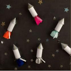 Mini fusées à confettis