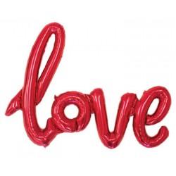 Ballon Love rouge