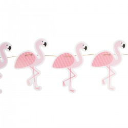 Guirlande flamants roses