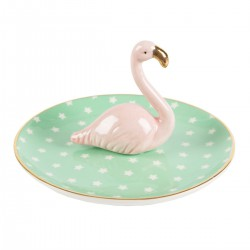 Coupelle flamant rose