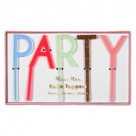 Cake topper PARTY