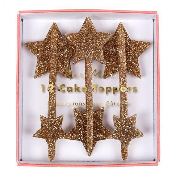 cake topper étoile