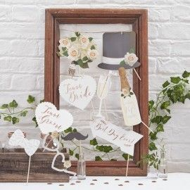 accessoires photobooth de mariage modern confetti. Black Bedroom Furniture Sets. Home Design Ideas