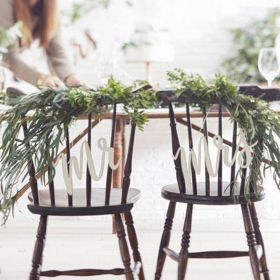 dos de chaise des mariés