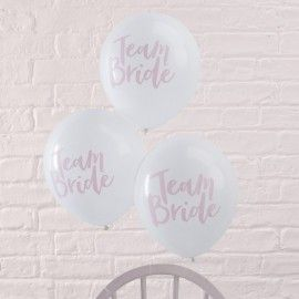 Ballons EVJF Team Bride