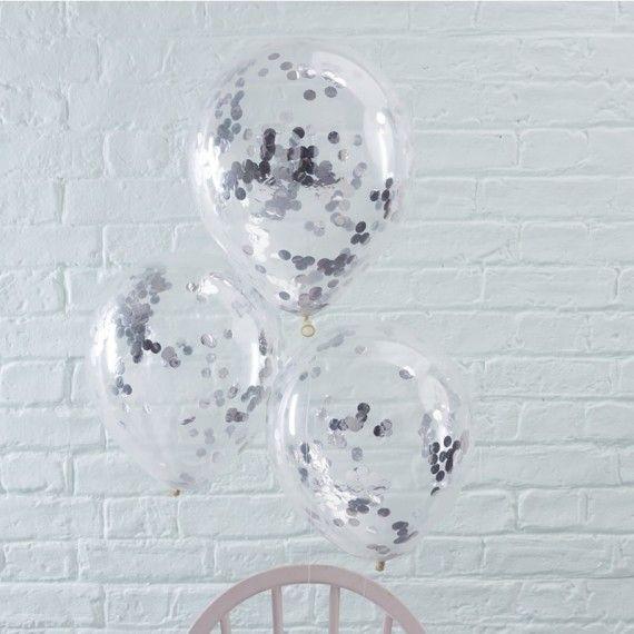 Ballon argent