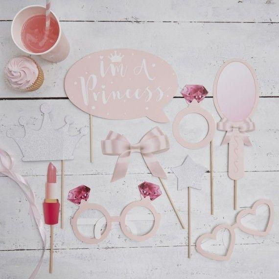 Accessoires photobooth princesse
