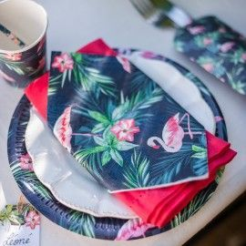 Assiettes tropical