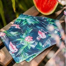 Serviettes tropicales