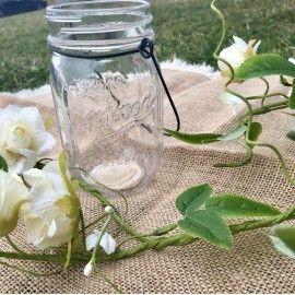 Photophore mariage champêtre