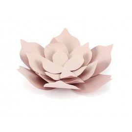 Grande fleur en papier DIY rose