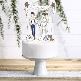 Cake topper My love