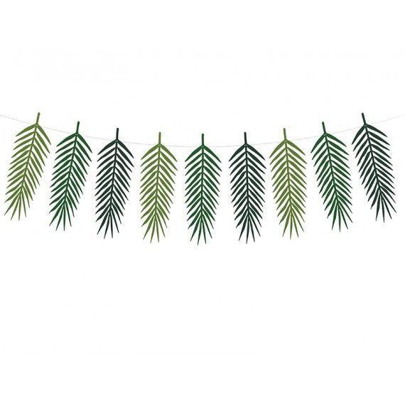 Guirlande feuilles