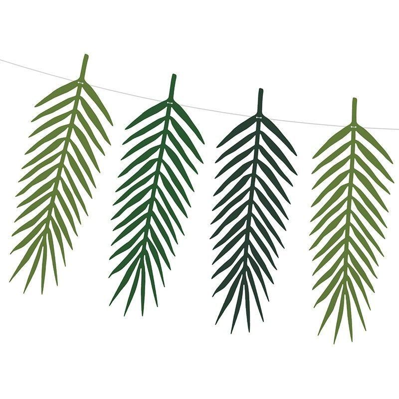 Guirlande feuilles tropicales - Modern Confetti