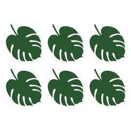 Feuilles tropicales décoratives