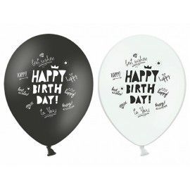 Ballons happy birthday (par 6)