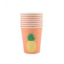Gobelets ananas (par 8)