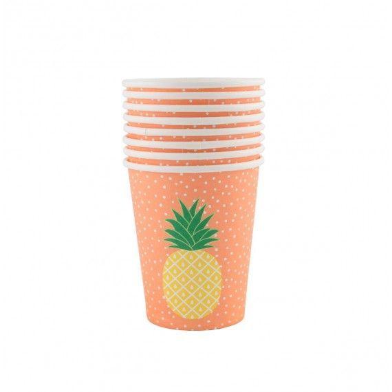 Gobelets ananas