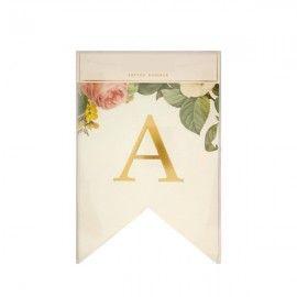 Guirlande lettre mariage