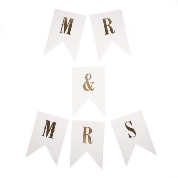 Guirlande Mr and Mrs