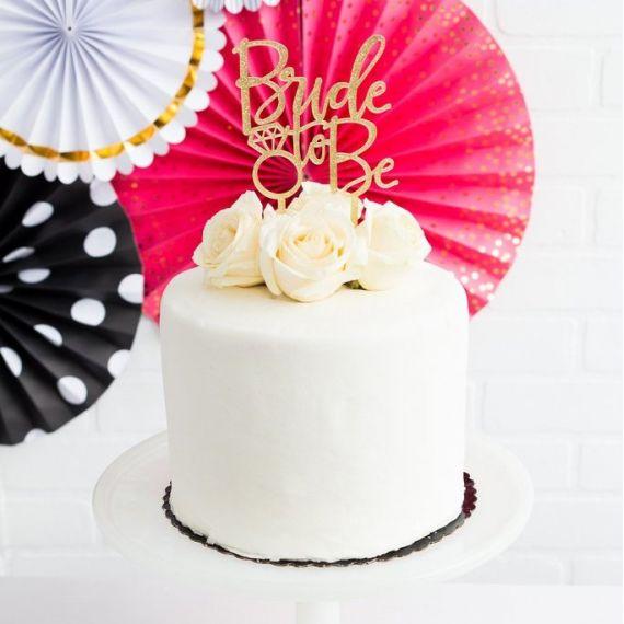 Cake topper EVJF