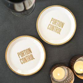 assiettes carton originale
