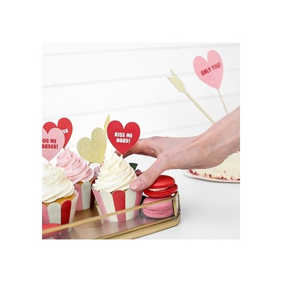 Cake toppers saint valentin