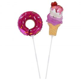 Mini ballons donut et glace