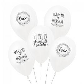 Ballon original pour mariage