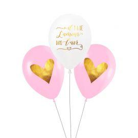 Ballons d'amour (par 3)