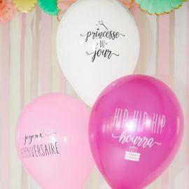 Ballons anniversaire princesse
