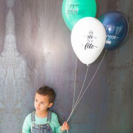 Ballons anniversaire garçon