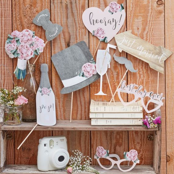 accessoires photobooth mariage modern confetti. Black Bedroom Furniture Sets. Home Design Ideas