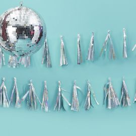 Guirlande tassel holographique