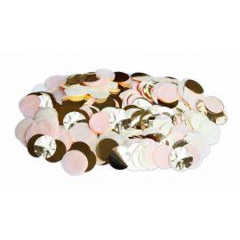 Confettis rose pêche