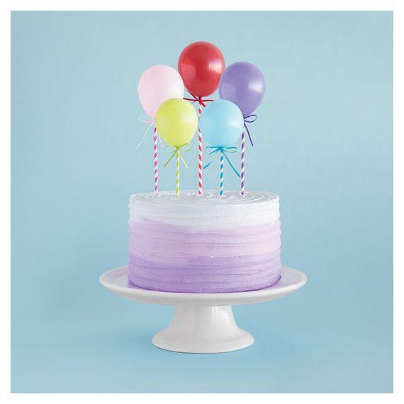 Cake topper mini ballons
